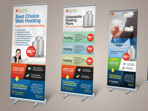 Rollup Banner Printing Delhi - Rollup Standee Printing