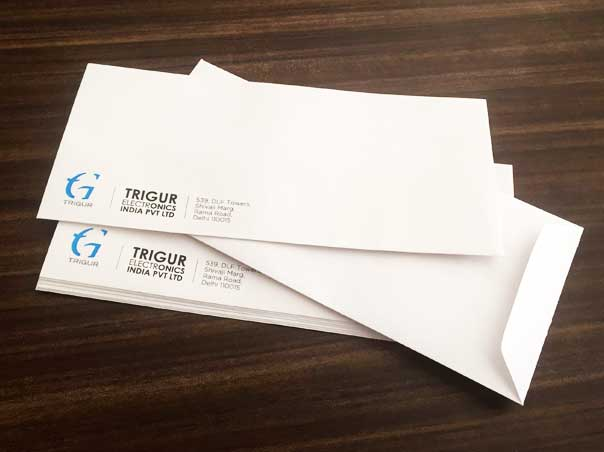 Standard letterhead at Delhi Printer