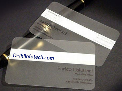 Plastic cards printing print premium transparent plastic business matt finish plastic business cards reheart