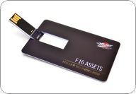 Business card shape pen drive