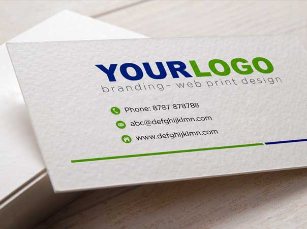 Business cards print your business cards at delhiprinter matt finish business cards at delhi printer reheart Images
